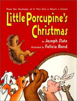 Little Porcupine's Christmas Book cover