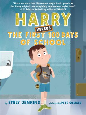 Harry versus the first 100 days of school Book cover