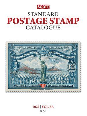 Scott standard postage stamp catalogue = Standard postage stamp catalogue Book cover