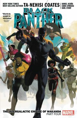 Black Panther. Volume 9, Part four The Intergalactic Empire of Wakanda Book cover