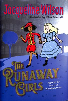 The runaway girls Book cover