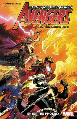 Avengers. Enter the Phoenix Book cover