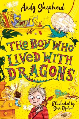 The boy who lived with dragons Book cover