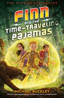 Finn and the time-traveling pajamas Book cover
