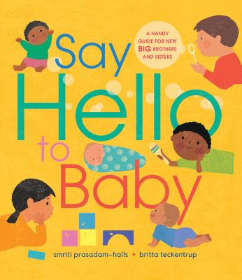 Say hello to baby Book cover