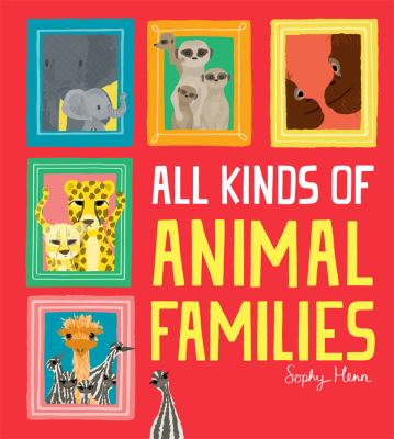 All kinds of animal families Book cover