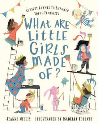 What are little girls made of? Book cover