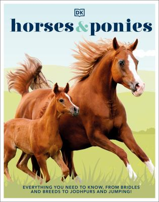Horses & ponies : everything you need to know, from bridles and breeds to jodhpurs and jumping! Book cover