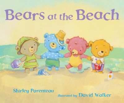 Bears at the beach Book cover