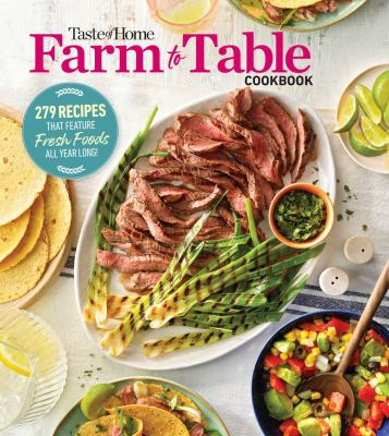 Farm to table cookbook. Book cover