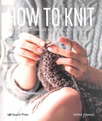 How to knit Book cover
