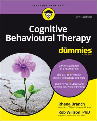 Cognitive behavioural therapy for dummies Book cover