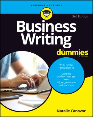 Business writing for dummies Book cover