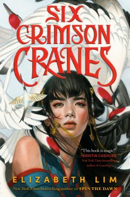 Six crimson cranes Book cover