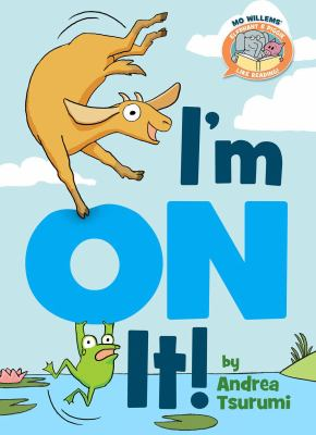 I'm on it! Book cover