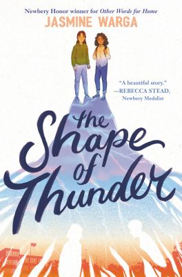 The shape of thunder Book cover