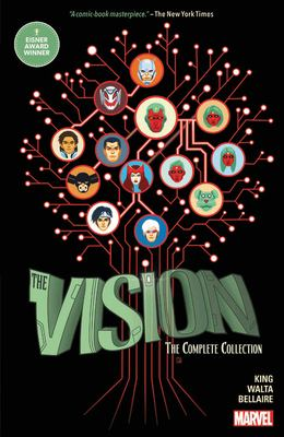 The Vision : the complete collection Book cover