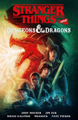 Stranger things and Dungeons & Dragons Book cover