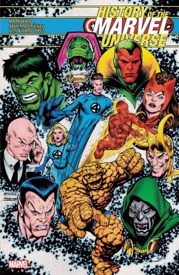 History of the Marvel Universe Book cover