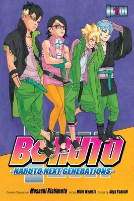 Boruto. Volume 11 Naruto next generations. The new team seven Book cover
