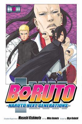 Boruto : Naruto next generations. He's bad news Volume 10 Book cover