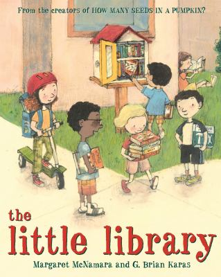 The little library Book cover