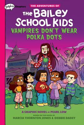 Vampires don't wear polka dots Book cover