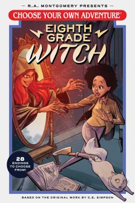 Eighth grade witch Book cover
