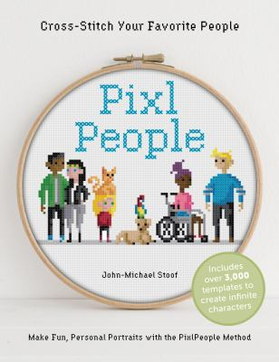 PixlPeople : cross-stitch your favorite people Book cover