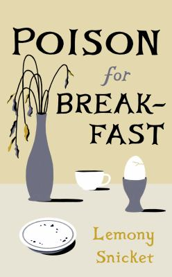 Poison for breakfast Book cover