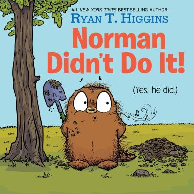 Norman didn't do it! : (yes, he did.) Book cover