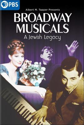 Broadway Musicals: A Jewish Legacy Book cover