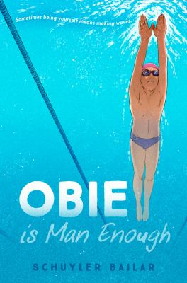 Obie is man enough Book cover