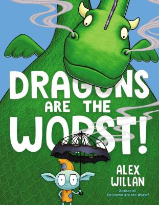 Dragons are the worst! Book cover